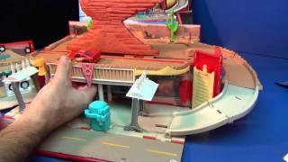 getlinkyoutube.com-Cars 2 Radiator Springs Play Town Product Demonstration