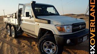 getlinkyoutube.com-Toyota Land Cruiser 6x6. Is this my new 4x4? Andrew St Pierre White