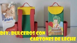 getlinkyoutube.com-DIY.COMO HACER DULCERO DEL CHAVO DEL OCHO CON CARTONES DE LECHE
