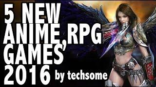 getlinkyoutube.com-5 New Anime RPG Games 2016 (iOS/Android)