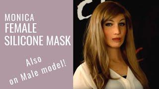 getlinkyoutube.com-Female Silicone Mask -  CREA FX