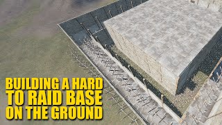 "getlinkyoutube.com-Rust For Dummies - ""How To Build A Hard To Raid Base On The Ground"""