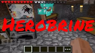getlinkyoutube.com-My sister thinks herobrine is in her world