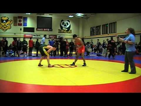 2014 Golden Bear Invitational: 57 kg Shervin Sabet vs. Sam Dietrich