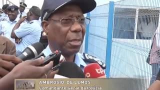 getlinkyoutube.com-Polícia Nacional inaugura quatro novas esquadras em Luanda | Primeiro Jornal | TV Zimbo |