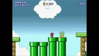 getlinkyoutube.com-Super Mario Bros Flash 2 - World 1