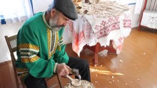 getlinkyoutube.com-Режем деревяную ложку за 5 минут / Wooden spoon in under 5 minutes.