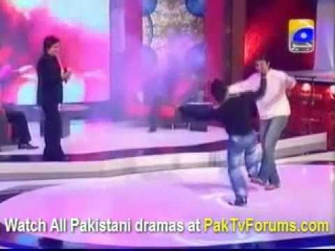 ABDUL RAZAQ and IMRAN NAZIR and ALEEM DAAR dancing by ABRAR BHATTI