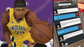 getlinkyoutube.com-NBA 2K17 MyCAREER - 51 POINTS LIKE ALLEN IVERSON!! A.Iverson Text Me After The Game!