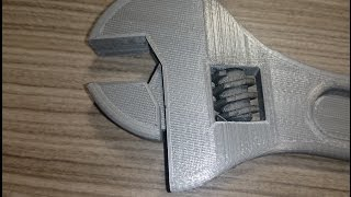 getlinkyoutube.com-3D Printing a Wrench on the Ultimaker 2