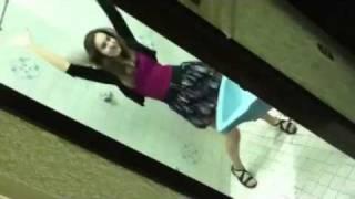 Girls dancing in the BATHROOM?!!?