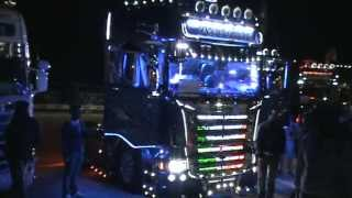 getlinkyoutube.com-Acconcia Blue Shark Scania -Misano Weekend del Camionista 2013