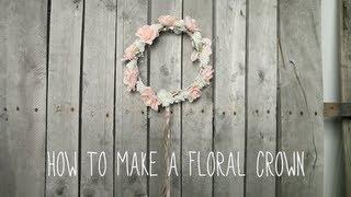 getlinkyoutube.com-Floral Crown Tutorial! | by tashaleelyn