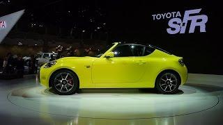 getlinkyoutube.com-「皆の声で実現」トヨタの小型スポーツ、S−FR【東京モーターショー】