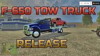 getlinkyoutube.com-Farming Simulator 2015- Ford F-650 Roll Back Tow Truck Release!