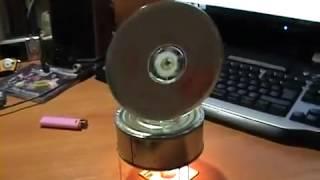 getlinkyoutube.com-محرك بسيط بالشمعه