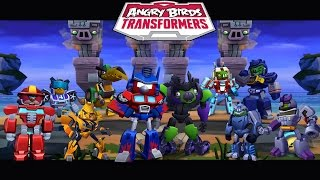 getlinkyoutube.com-Angry Birds Transformers - All Transformers Unlocked Gameplay Walkthrough #26