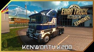 getlinkyoutube.com-Euro Truck Simulator 2   Kenworth k200   1.20.x - 1.21.