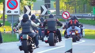 getlinkyoutube.com-Harley Davidson Breakout Friends Meeting 08.05.16 (Love Ride Zurich/Switzerland)