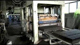 getlinkyoutube.com-QT10-15 Full automatic concrete block making machine for concrete stone molds