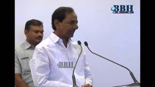 CM KCR Speech At Apple phone