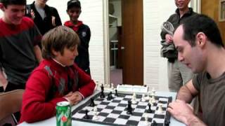 getlinkyoutube.com-IM Greg Shahade vs 10 year old chess master