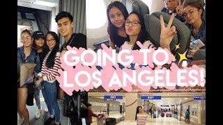 GOING TO LOS ANGELESSSS VLOG // Andree Bonifacio