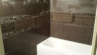 getlinkyoutube.com-How to tile a bathroom wall