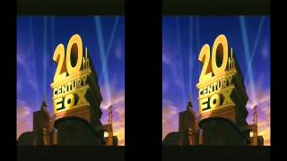 getlinkyoutube.com-20th CENTURY FOX 3D (Cinemascope format) - logo 2D to 3D conversion.AVI