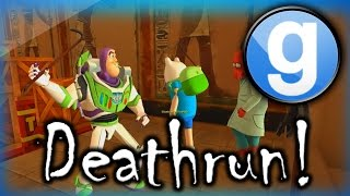 getlinkyoutube.com-Gmod Deathrun Funny Moments Crash Bandicoot Edition! - Funny Fails and More!