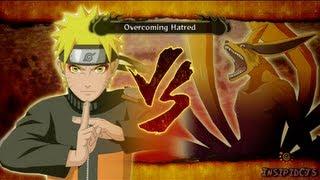 getlinkyoutube.com-Naruto Ultimate Ninja Storm 3 Naruto Vs The Nine Tails S-Rank Hero (English)