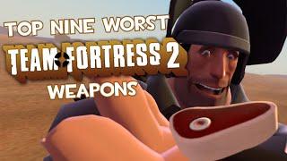 getlinkyoutube.com-Top Nine Worst Team Fortress 2 Weapons