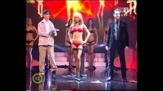 getlinkyoutube.com-Striptease magic in a live TV show - Máté Rakonczai