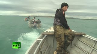 getlinkyoutube.com-I am Hunter: ancient tradition of whaling in Chukotka.