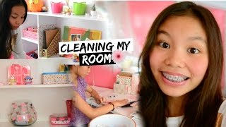 Cleaning My Room! (How I Clean My Room)