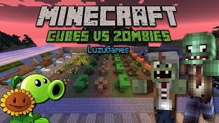 getlinkyoutube.com-PLANTS VS ZOMBIES en Minecraft!!! - [LuzuGames]