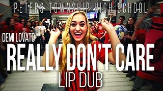 "getlinkyoutube.com-Demi Lovato ""Really Don't Care"" Lip Dub 