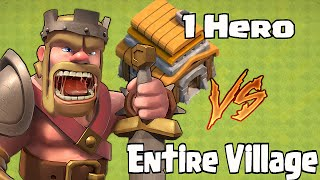 "getlinkyoutube.com-PACMAN ""1 Lvl 2 Hero vs 1 Base! Clash of clans"""