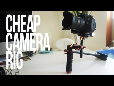Cheap DSLR Camera Stabilizer Rig