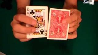 getlinkyoutube.com-Truco de magia revelado: Carta que cambia en el aire