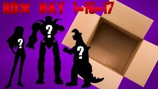 getlinkyoutube.com-Box Day 1 16 17 Pacific Rim, Evangelion, Ultraman!