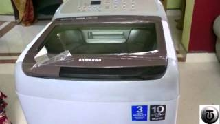getlinkyoutube.com-Samsung Activewash+ Wobble Technology 6.5kg automatic washing machine Unboxing and First look