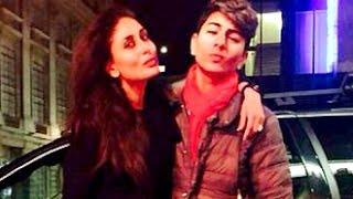 Hot Kareena Kapoor Pouting With Step Son Ibrahim | Hot Bollywood News | Amrita Singh, Saif Ali Khan