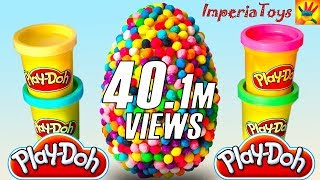 getlinkyoutube.com-GIANT EGG DIPPIN DOTS THOMAS & FRIENDS HELLO KITTY SPIDER-MAN MINNIE CARS PAW PATROL ImperiaToys