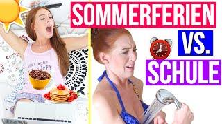 getlinkyoutube.com-MORGENROUTINE: SOMMERFERIEN VS. SCHULE! | LaurenCocoXO