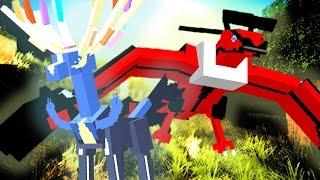 getlinkyoutube.com-PokeCube LEGENDARY QUEST ✶ Episode 1 - XERNEAS & YVELTAL?!? w/ L8Games & LOGinHDi