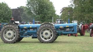 getlinkyoutube.com-Newby Hall 6th Annual Vintage Tractor Show