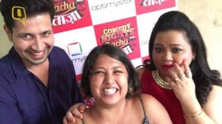 getlinkyoutube.com-Exclusive: Bharti Singh Immitates Summet Vyas and it's Hilarious
