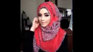 getlinkyoutube.com-🌟Hijab Tutorial-16🌟 Cara Memakai Jilbab Pashmina ۞ Simple Red Star ۞ (Up to date)