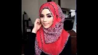 🌟Hijab Tutorial-16🌟 Cara Memakai Jilbab Pashmina ۞ Simple Red Star ۞ (Up to date)
